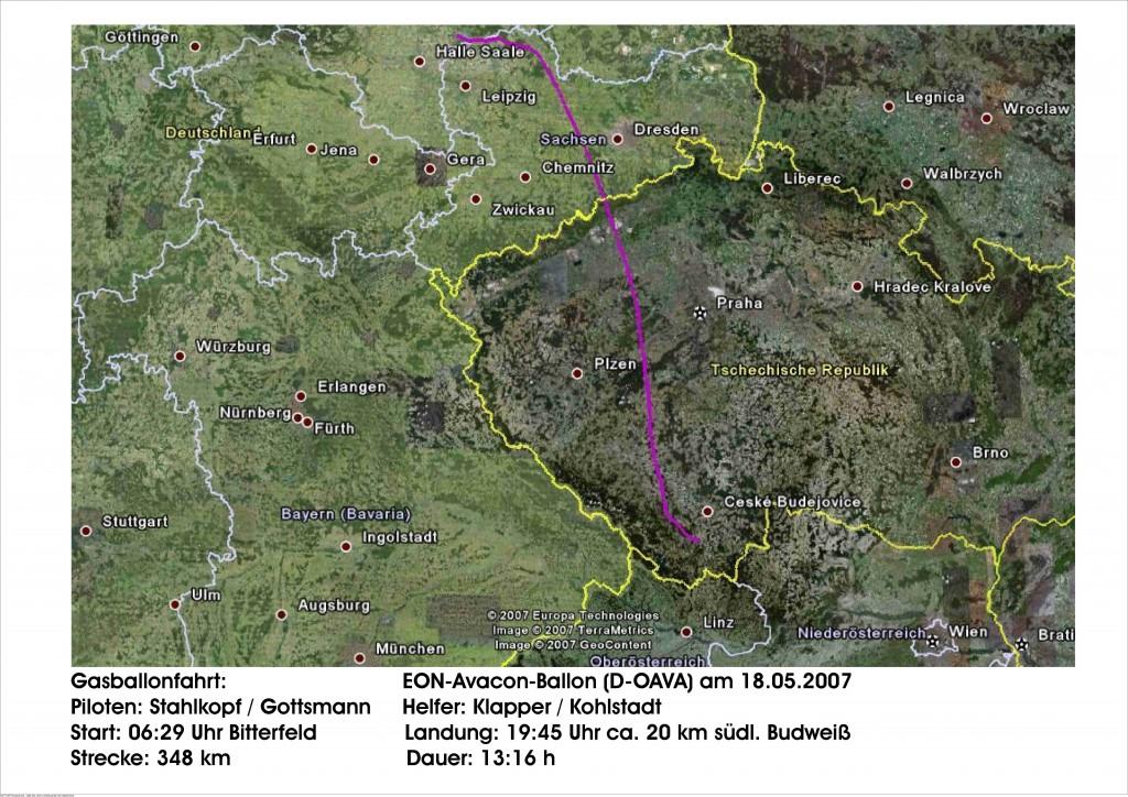Route Deutsche Meisterschaft