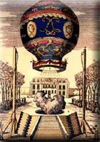 Erste Montgolfiere