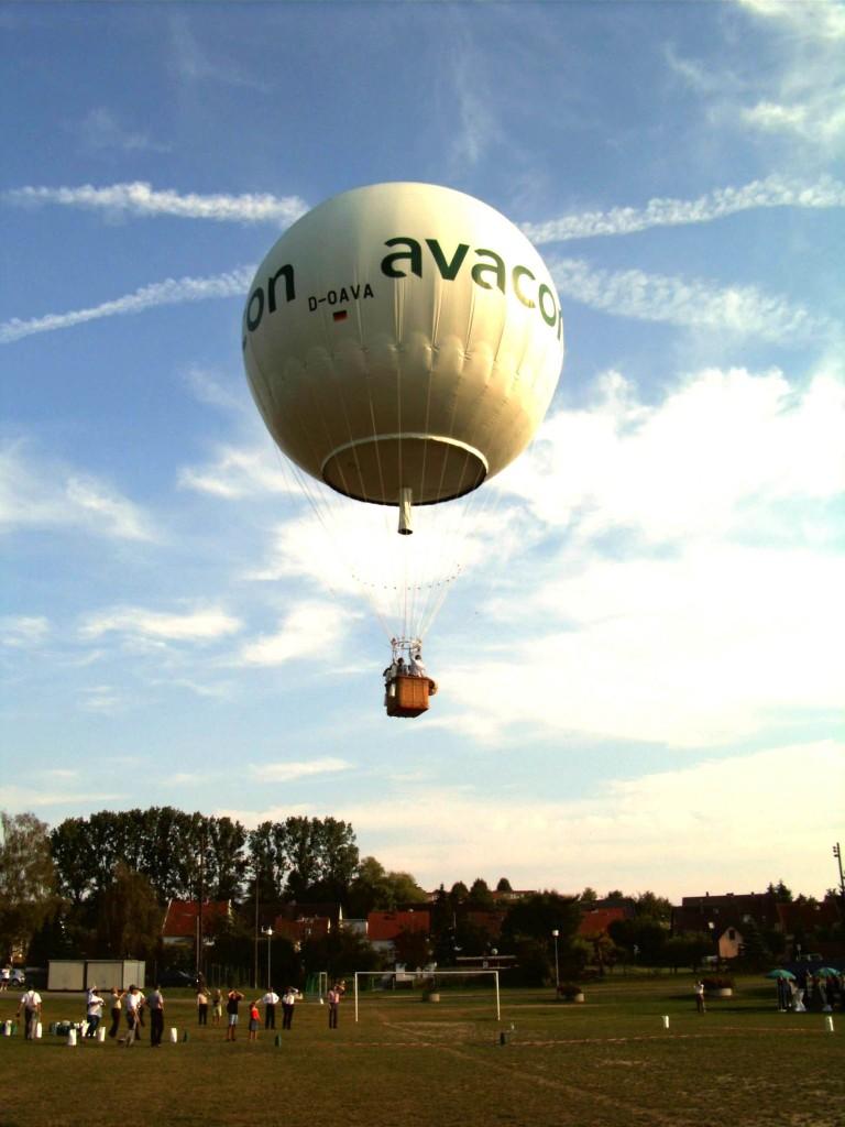 Gasballon Start