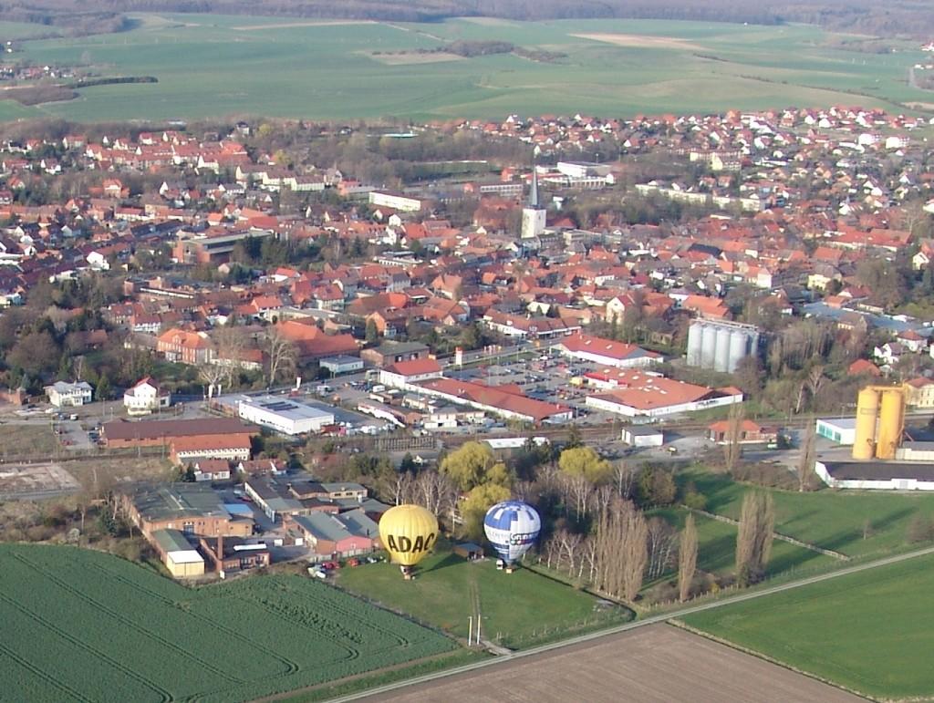 Startplatz Schöppenstedt von oben