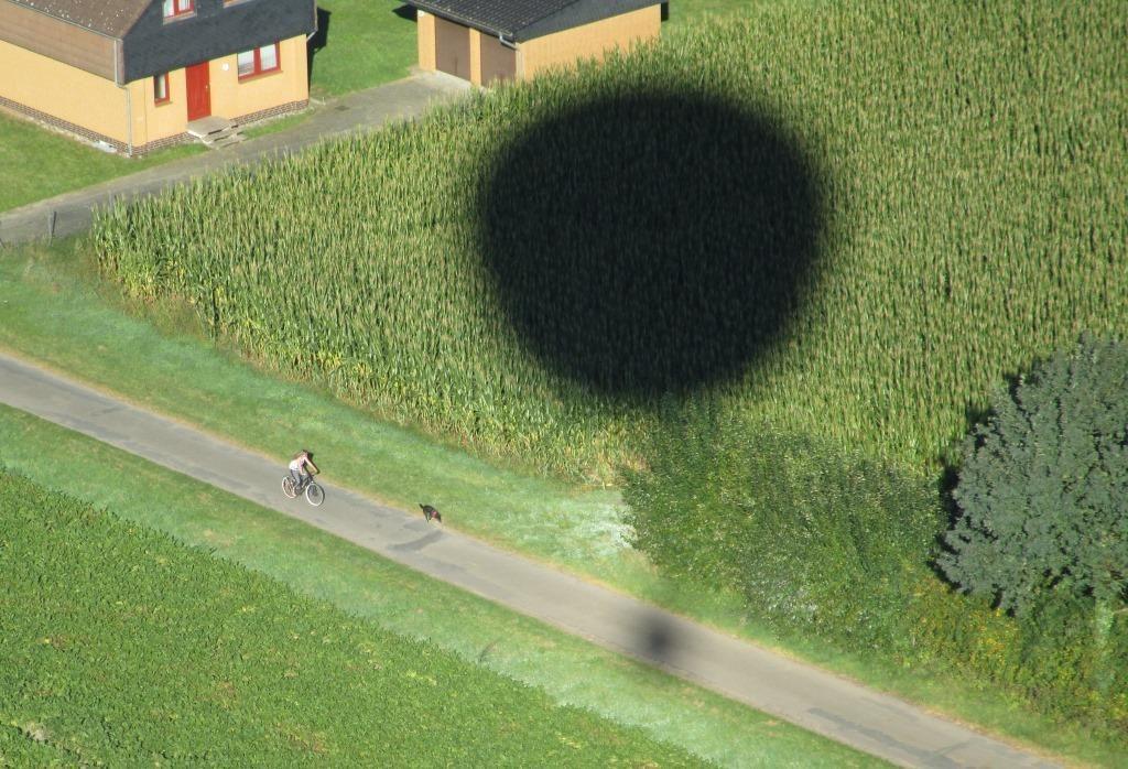 Schatten Korb
