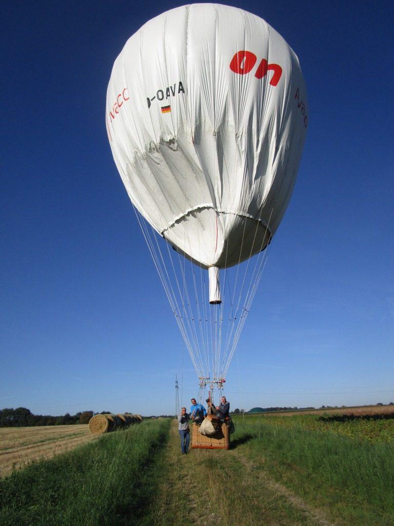 Landung Gasballon